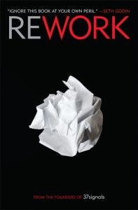 37 цитат із книги «Rework», які можна «твітнути»