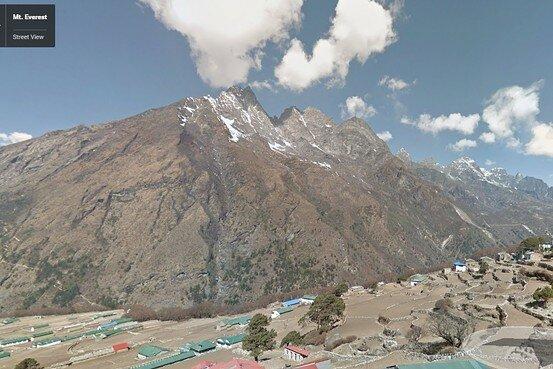 Google Street View підкорив Еверест