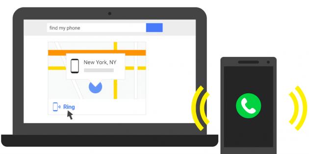 Загублений смартфон відтепер можна знайти у рядку пошуку Google