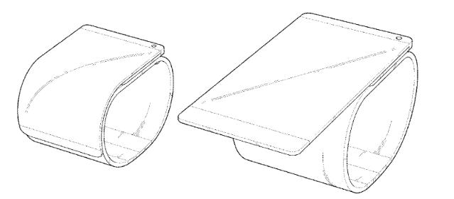LG запатентувала смартфон, який згортається, як браслет