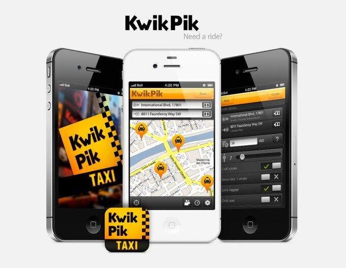 Українські мобільні додатки для виклику таксі