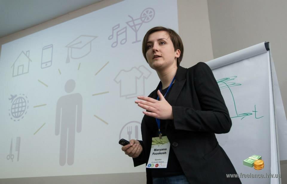 Правила успішного фрілансу на Lviv Freelance Forum 2015: Марія Фозекош
