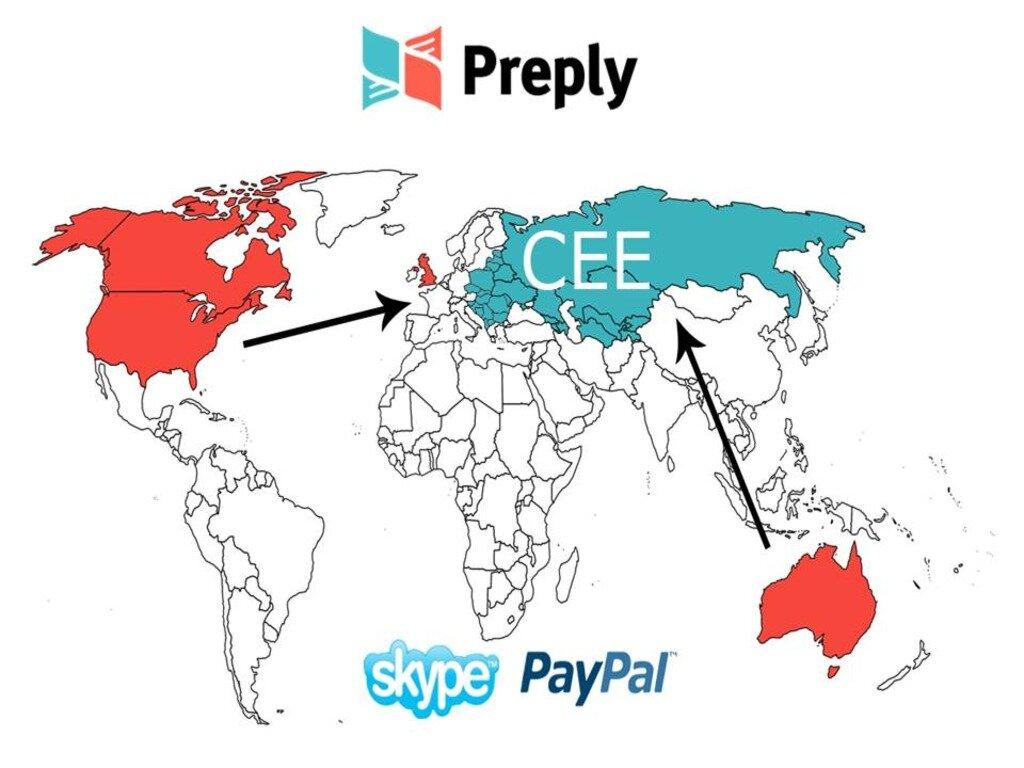 Український стартап Preply зафункціонував у 47 містах п'яти країн