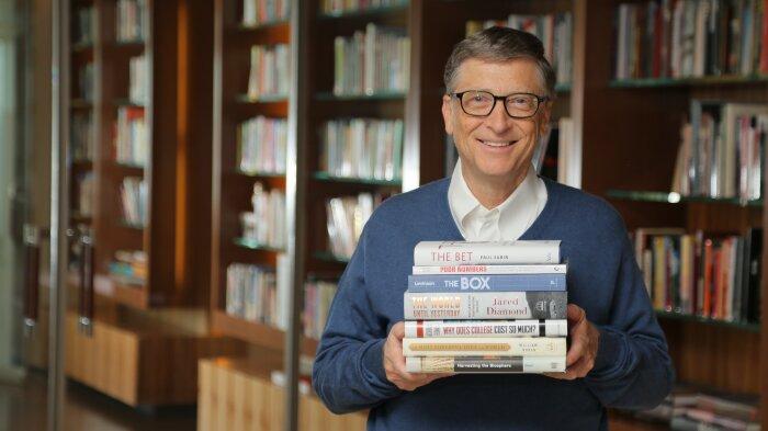 6 книг, які радить прочитати Білл Гейтс