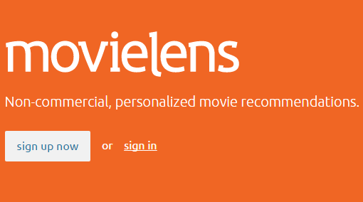 MovieLens – новий сервіс, який порекомендує фільм