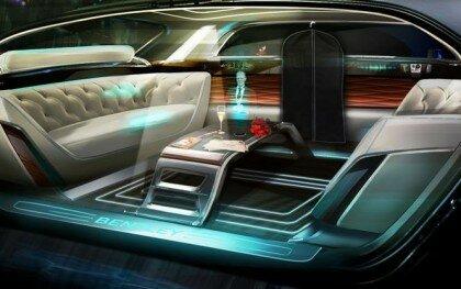 Bentley представив безпілотний лімузин з голографічним дворецьким