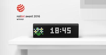 LaMetric Time отримав престижну нагороду за дизайн Red Dot Design Award.