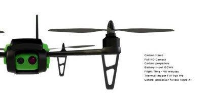 Україно-білоруський стартап збирає 300К євро на дрона-рятівника