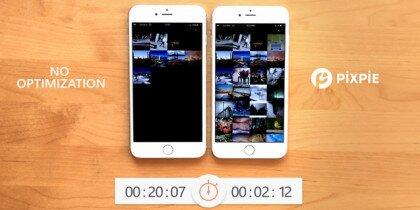 Український стартап Pixpie допомагає в 4 рази швидше завантажити зображення